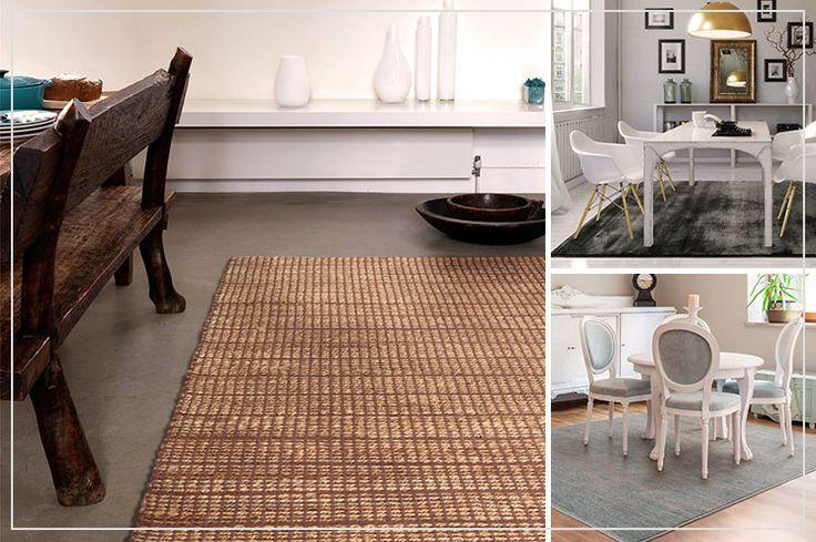 Das Esszimmer stilvoll gestalten -  mit Esszimmerteppichen von benuta. Jetzt im Shop vorbeischauen!