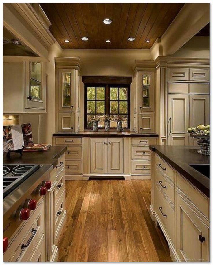 60 french country kitchen modern design ideas 37 french for Kitchen design 60s