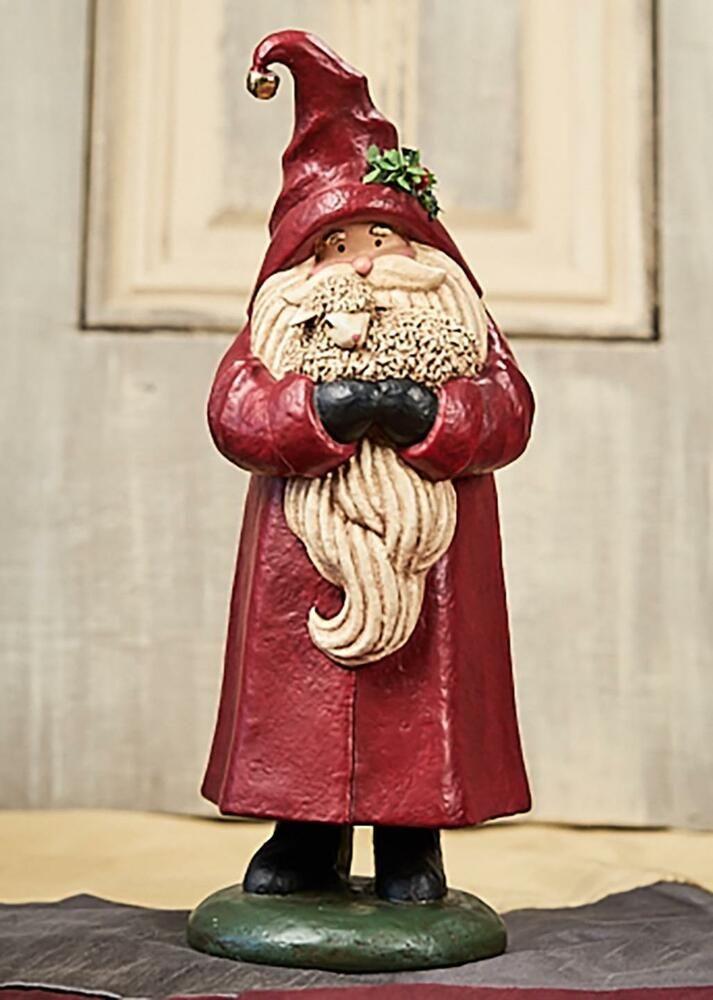 Christmas Sheep Deborah Graham 99037 Red Santa /& Friend Figurine