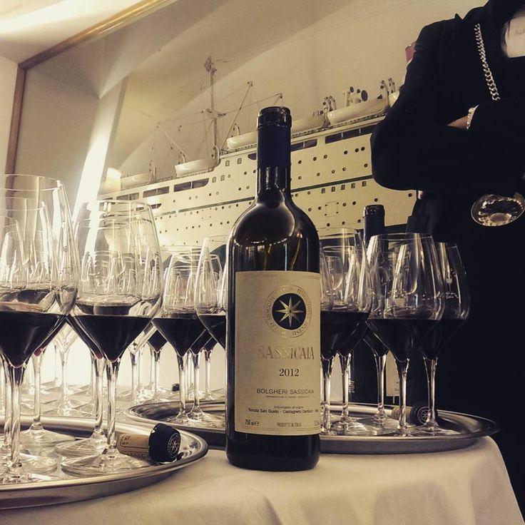 L'evento Cinque Giornate del bere di Milano: in degustazione anche Sassicaia 2012, in onore a Giacomo Tachis!