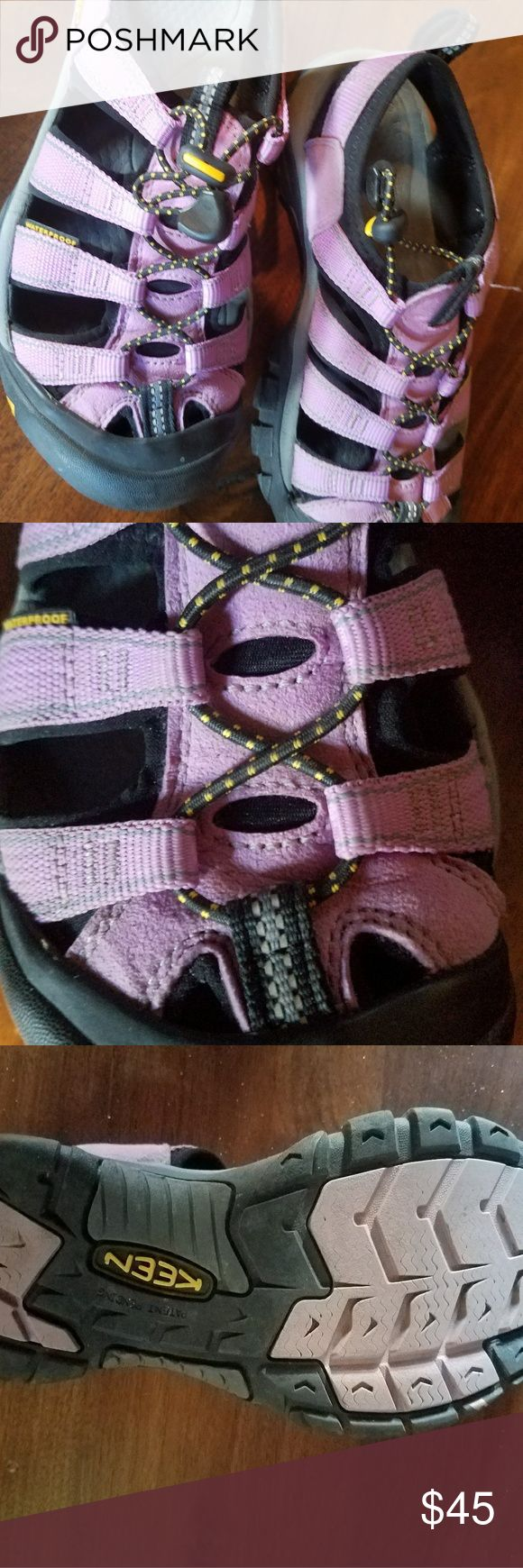Keen purple sports sandals Super comfy purple Keen sport sandals. Worn once. No signs of wear. Keen Shoes Athletic Shoes