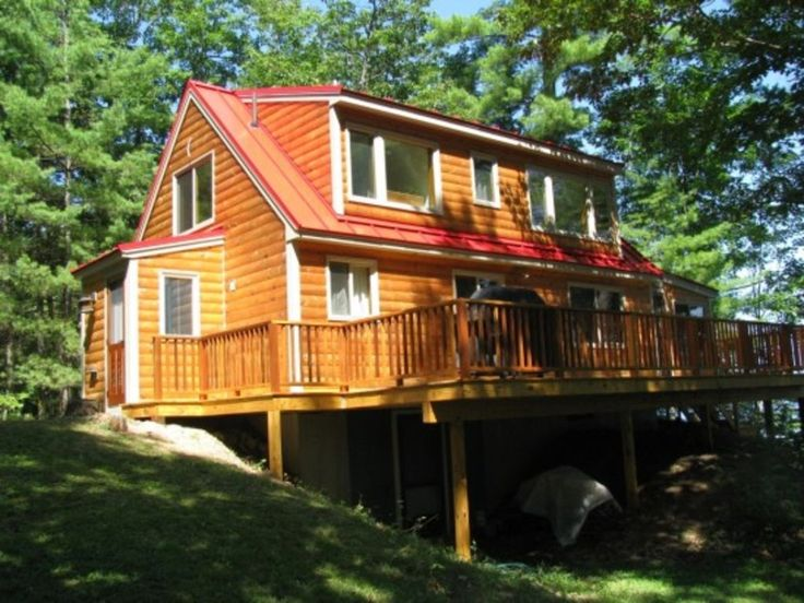 Bridgton maine very private long lake waterfront cabin