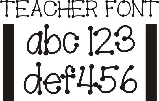 26 Free Fonts for Teachers