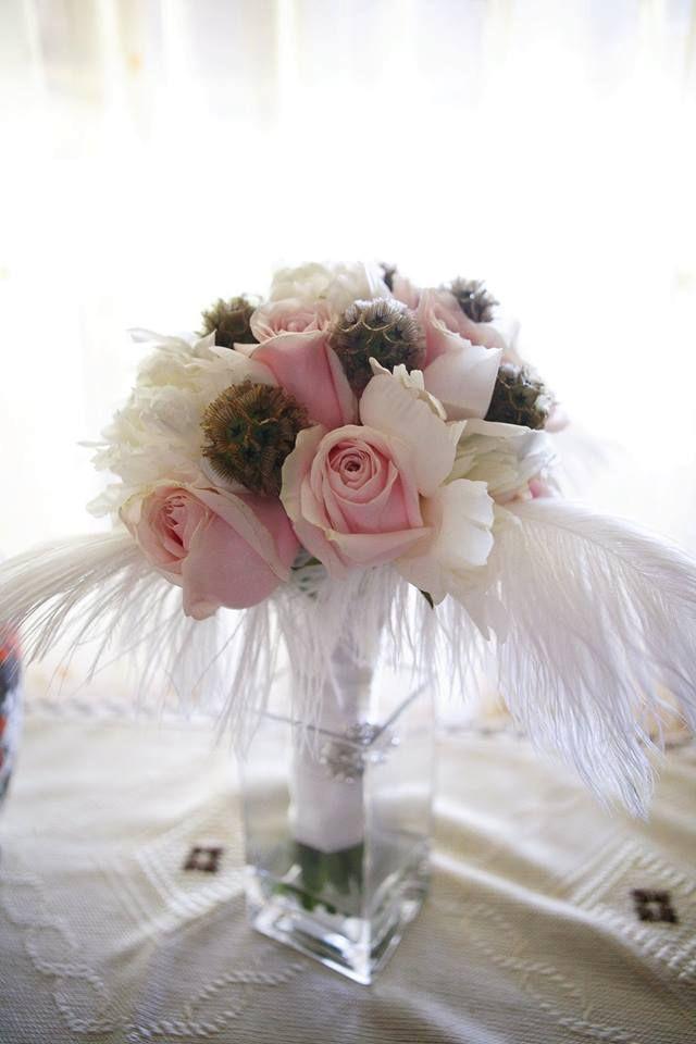 Mrs. Gatsby's bridal bouquet  Photo: Szasz Csilla