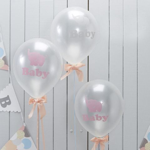 'Little One' Baby Shower Balloons
