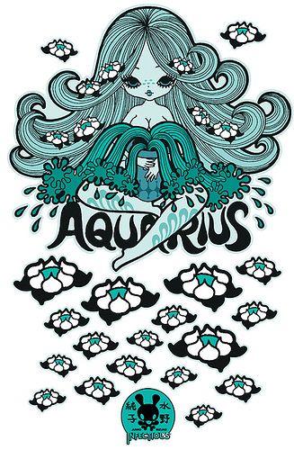 Aquarius by Junko Mizuno:
