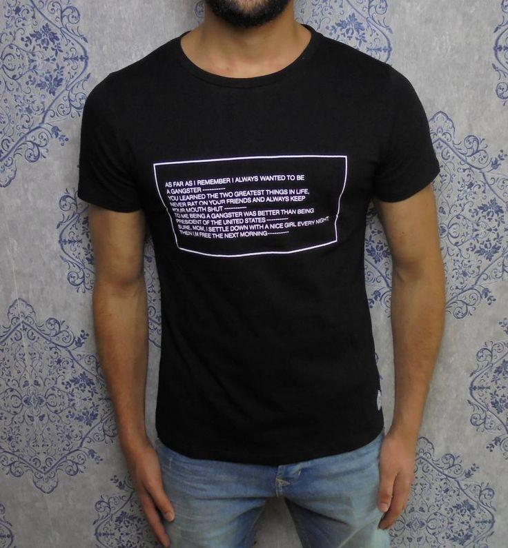 Sixth June Goodfellas Tee Black, www.dopedfashion.nl/en €14,99 #quote #goodfellas #sixthjune #fashion