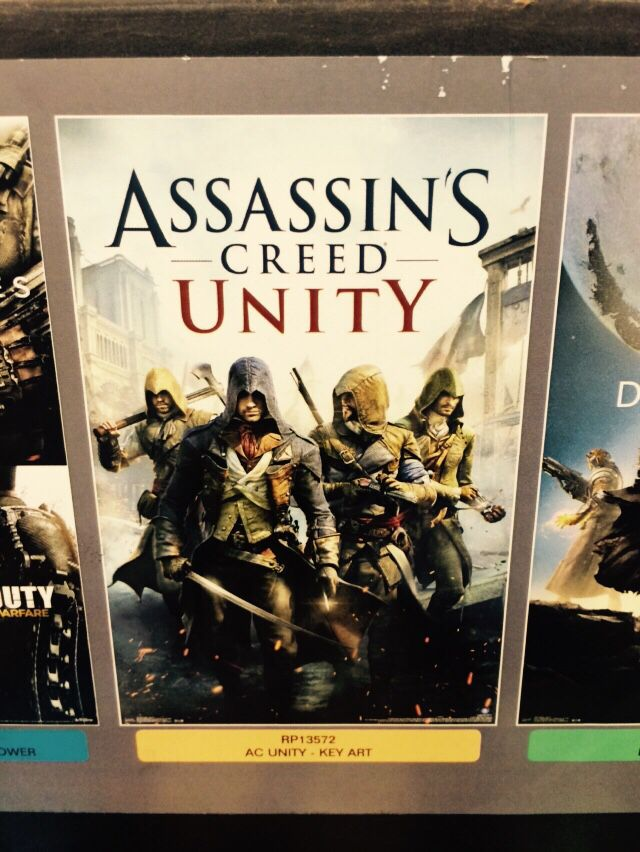 Assains Creed Poster from Target for Nadia