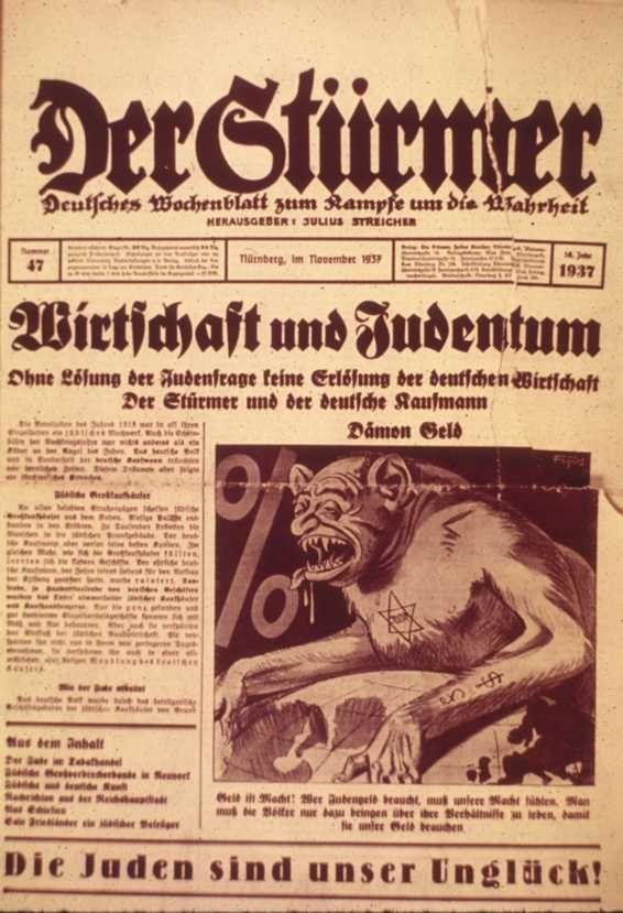 Anti-Semitic animalization