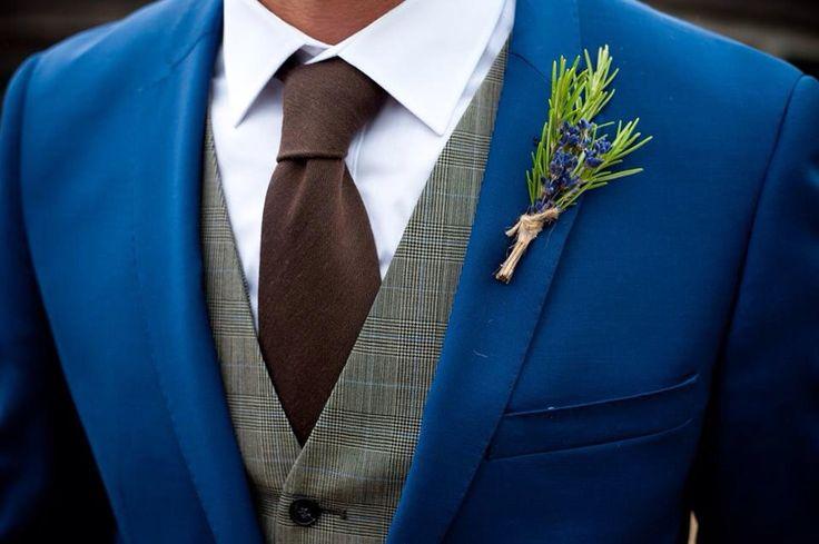 #groomsmen #groom #navy #tweed #waistcoat #blue #suit #wedding #ideas