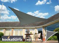 Voile d'Ombrage Charbon Triangle Rectangle 4,2m - Imperméable - 160g/m2 - Kookaburra