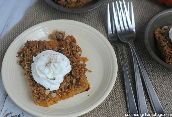Does anyone get tired of pumpkin recipes? I sure don't! I live for fall, when the pumpkins are ripe and everyone is making their favorite recipes and desse