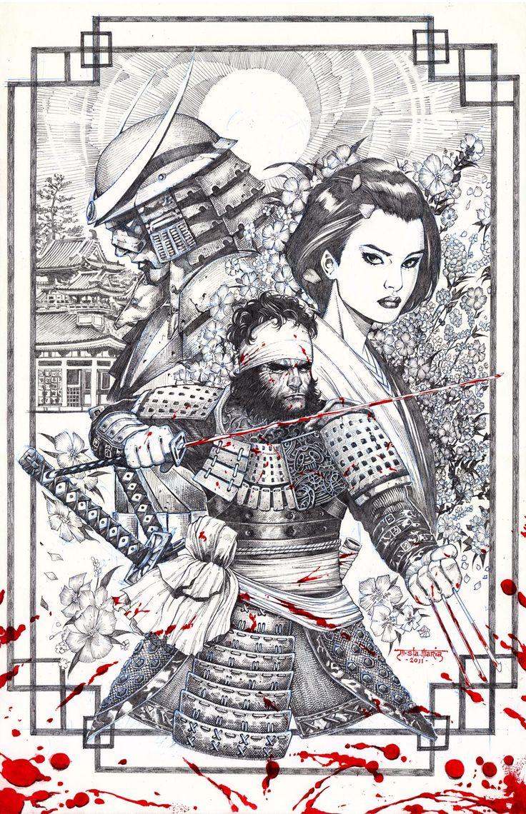 Wolverine & Silver-Samurai Japan Origins