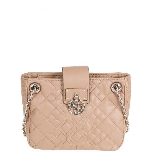 Borsa Guess tracollina con patta Aliza VG6109120  #style #bags #guess