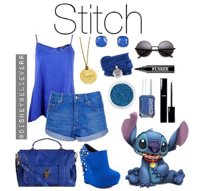 Stitch :) disney outfits :)