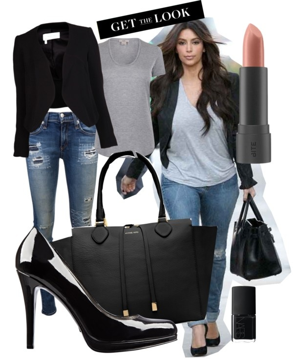 Kim Kardashian Style By Keebepom On Polyvore Don 39 T Care