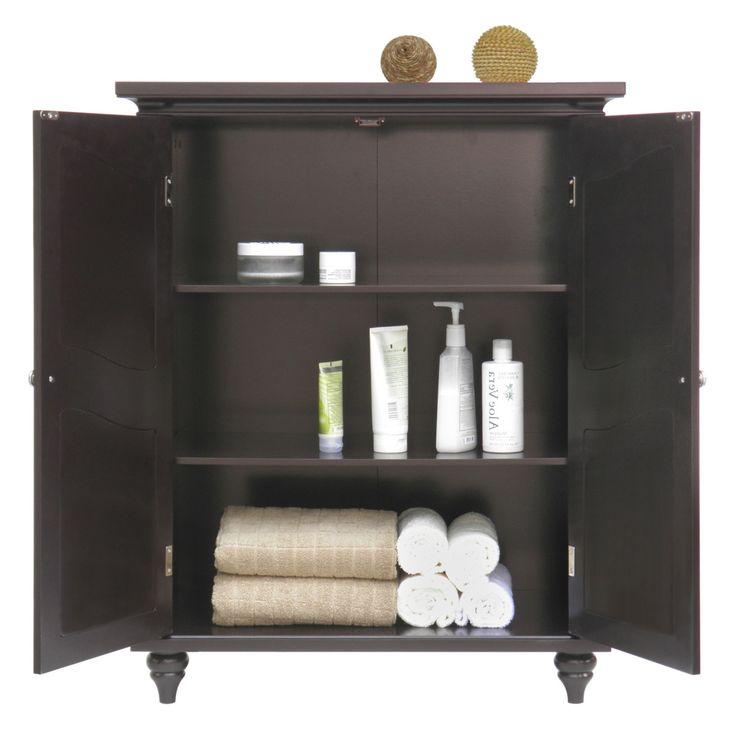 bath storage cabinets free standing | Bathroom Floor Cabinet Free Standing…