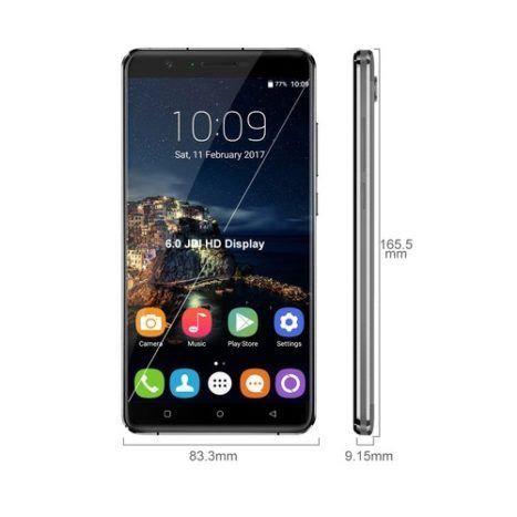 Oukitel announced U16 Max Phablet with 3 GB RAM and 4000 mAh battery