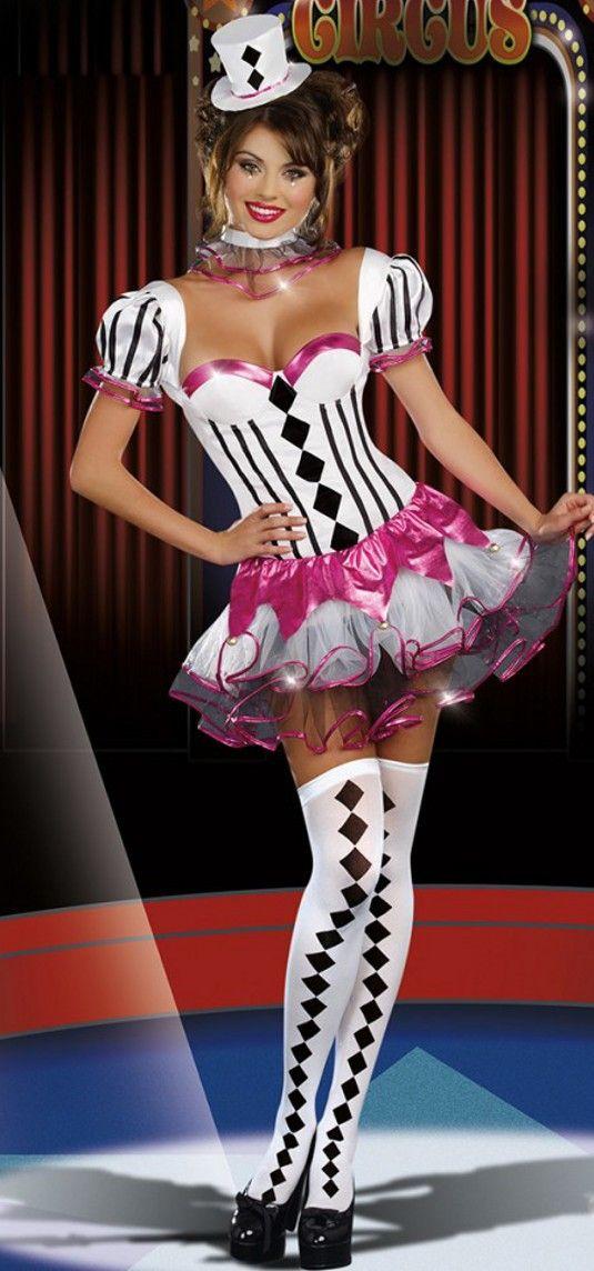 Disfraz de presentadora de circo carnavales. El disfraz de presentadora de circo es perfecto para la temporada de carnavales. Por sus detalles está lleno de magia y alegría!