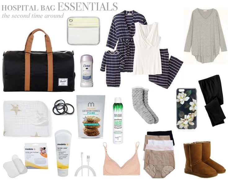 Hospital Bag Checklist, the second time around   A Little Bit of Lacquer   Bloglovin