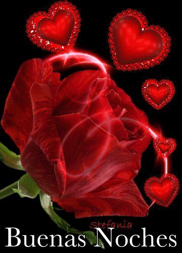 Imagenes de rosas y corazones con movimiento