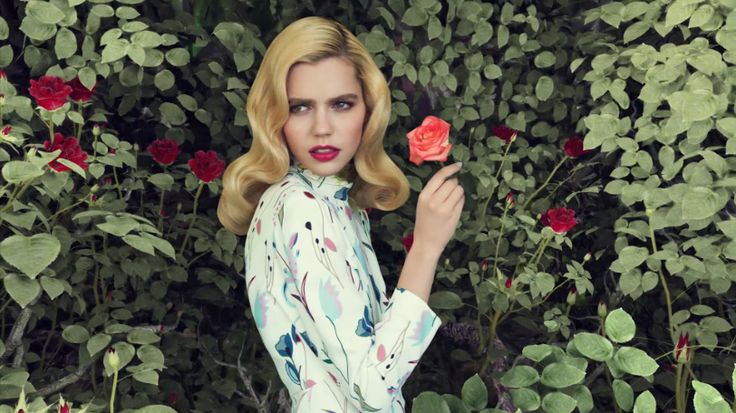 Reed + Rader Turn A Fashion Spread Into A Moving Flower Utopia