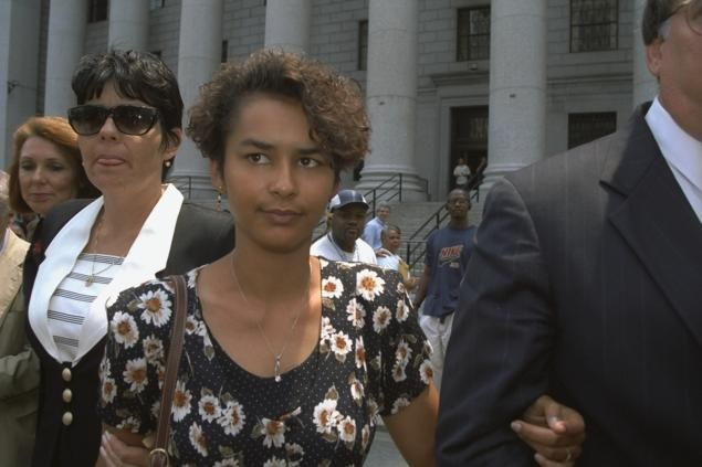 pictured Autumn Jackson and  Shawn Thompson Upshaw   During Autumn Jackson's extortion trial in July 1997, Bill Cosby testified that he made private payments to Upshaw, a woman who had briefly been his lover during the early 1970s. Upshaw later told Cosby that he was the father of her daughter, Autumn Jackson.