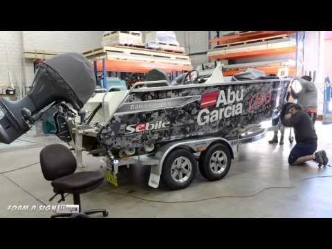 Abu Garcia - Bar Crusher Boat Wrap