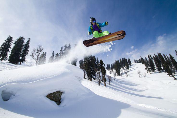Winter Sports in Carpathian Mountains, Romania