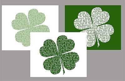 St. Patty's Day Printables...