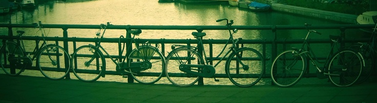 Bikes in Amsterdam.