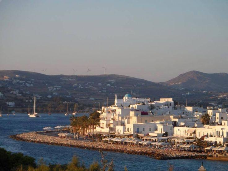 Παροικιά (Paroikia) στην πόλη Κυκλάδες, Κυκλάδες
