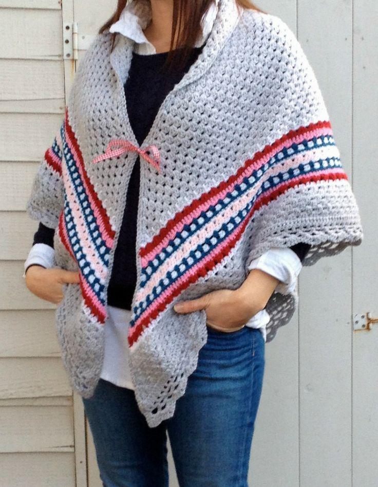 Color inspiration :: Nordic Shawl, crocheted by Vanessa Harvey at Coco Rose Textiles blog. (Pattern by Annette Ciccarelli/MyRoseValley.blogspot.com) ❥Teresa Restegui http://www.pinterest.com/teretegui/❥