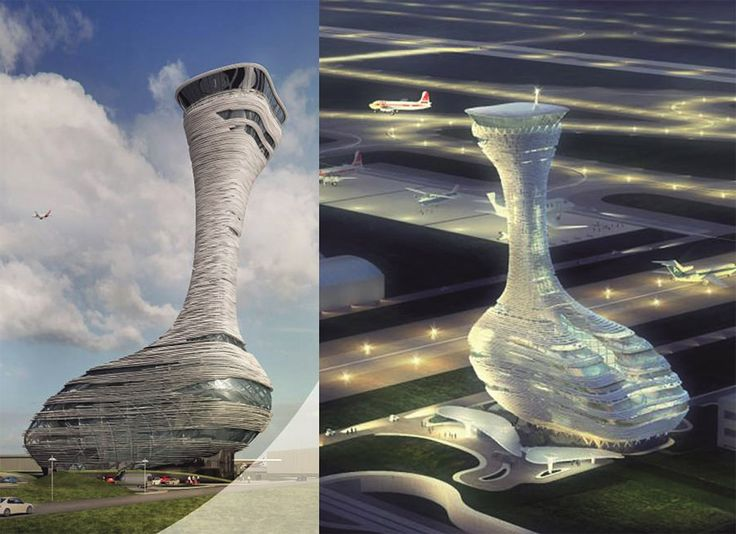 World's Top Designers Compete for the Airport Traffic Control Tower of the New Istanbul Airport