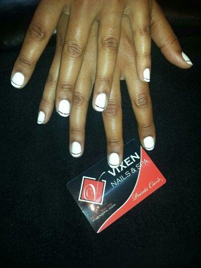 Trendy Shellac Manicure #VIXENSPA