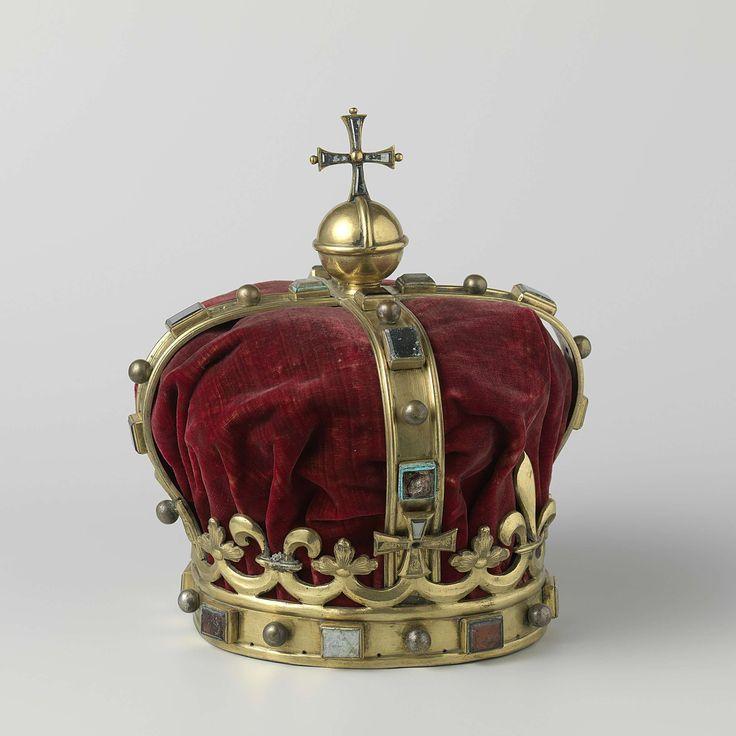 Kroon voor koning van Ardra, anoniem, 1664