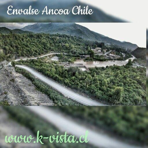 Envalse Ancoa. Linares Chile