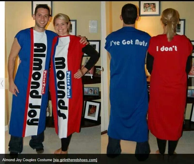 Cute couple Halloween costume funny but maybe not appropriate!!