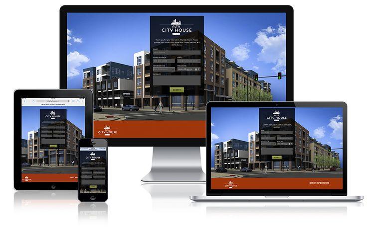 Apartment Website Design Amusing Inspiration