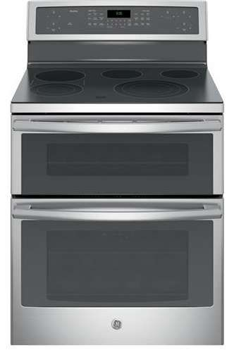 """Lowest price on GE PB960SJSS Profile 30"""" Stainless Steel Electric Smoothtop Double Oven Range - Convection. Shop today!"""