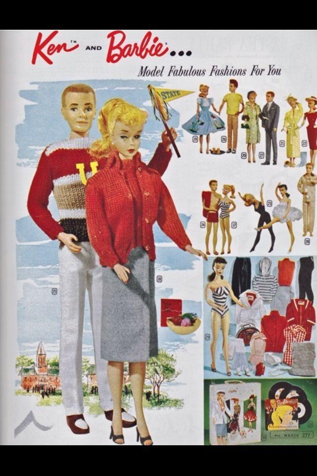 Vintage Barbie & Ken