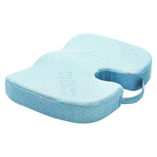 The Miracle Bamboo Cushion Is An Orthopedic Seat Cushion With A Viscose From Bamboo Cover It Helps Relieve Back Aches Numbness Fatique Discomfort Soreness