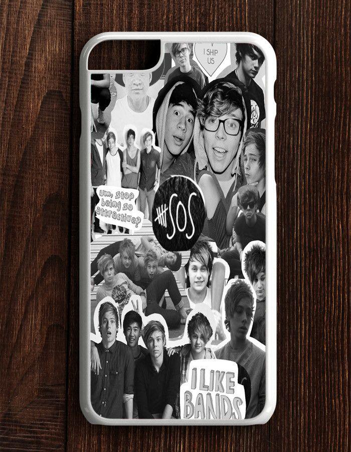 5 Second Of Summer Collage 5 SOS Art Music iPhone 6 Plus | 6S Plus Case