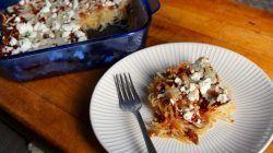 Grain Free, Vegetarian Barbecue Spaghetti Squash Casserole - Powered by @ultimaterecipe