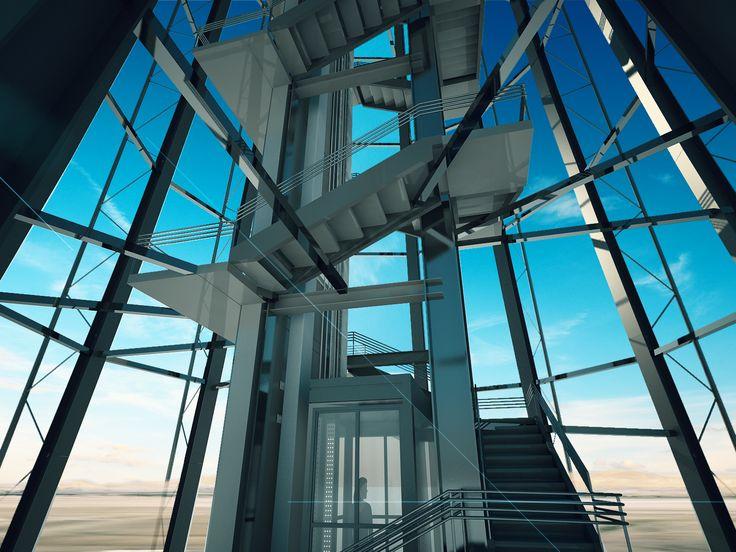 Control Tower Damascus International Airport.