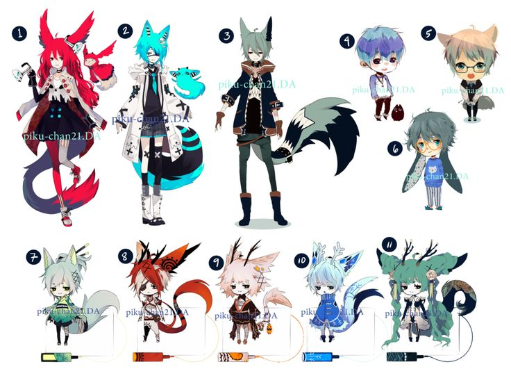 Anime Characters Animals : Images about body and clothes inspiration on