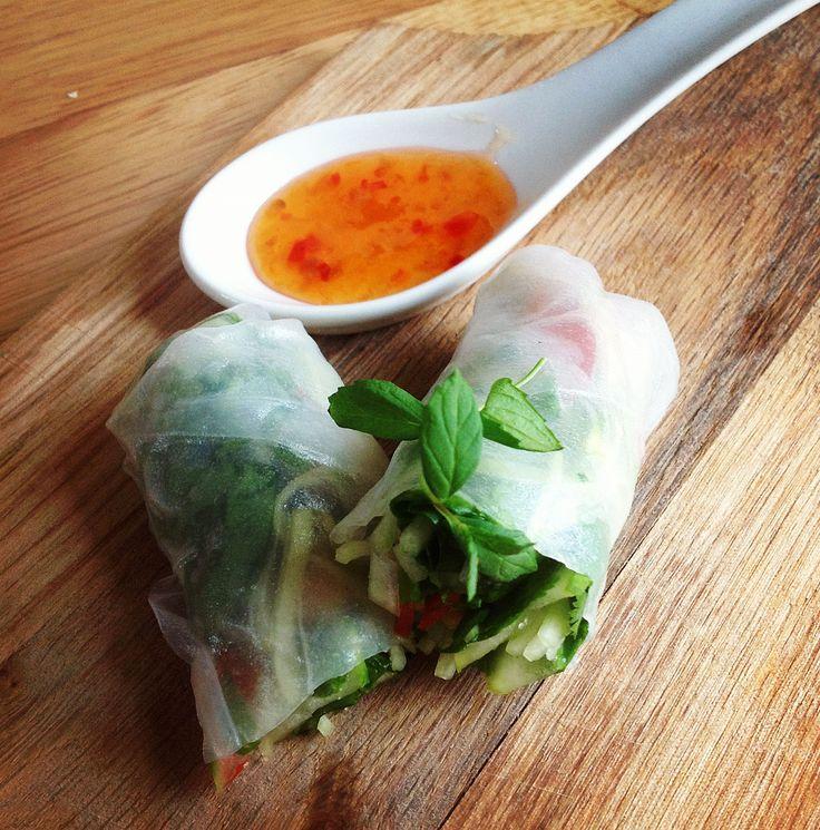 Goi Cuon, rolinhos primavera vietnamita - Superchefs.com.br | Chefs de cozinha