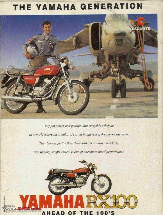 Dream machine this - Yamaha RX100