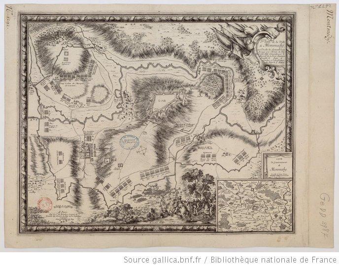 Plan de la ville de Monmédy au duché de Luxembourg. Assiégé par l'Armée du roy Louis XIII. Commandée par le maréchal de la Ferté Senetaire
