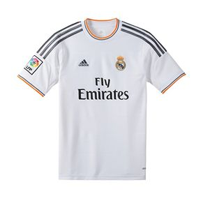 adidas Youth  Real Madrid  Soccer Jersey  (Home 2013/14)